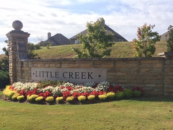 Entrance to Little Creek in Chelsea Park