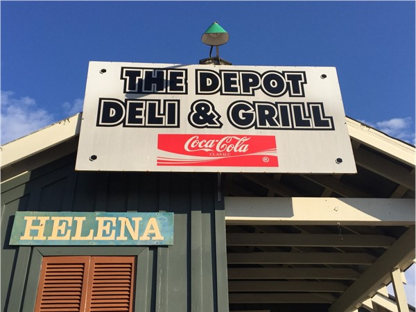 The Depot - A Helena landmark and favorite with locals