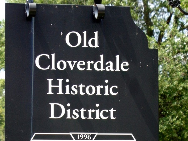 Old Cloverdale Historic District
