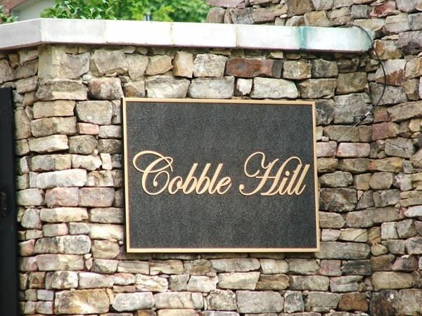 Cobble Hill: a gated community in Vestavia Hills