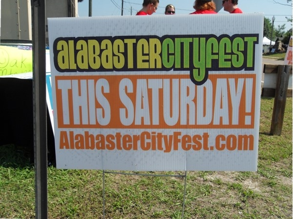 Alabaster City Fest is coming to town