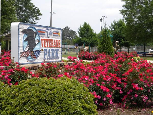 Vetrans Park in Priceville on AL Hwy 67