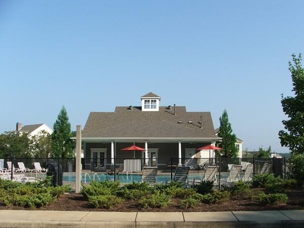A pretty pool area in Hillsboro