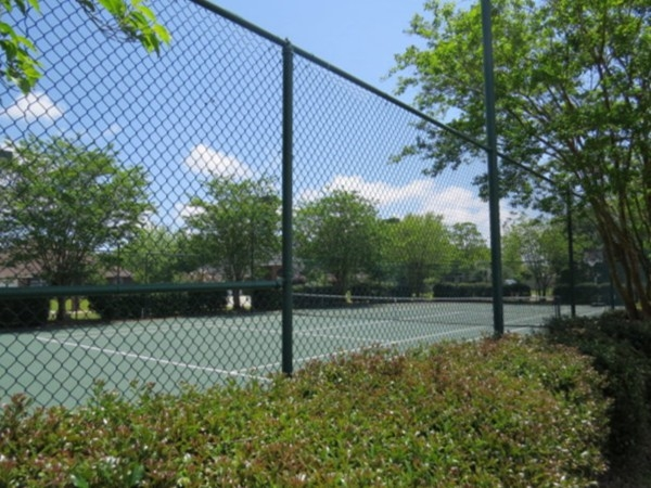 Tennis court at Meadow Run Estates! This neighborhood has fantastic amenities!