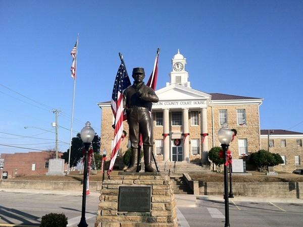 Dual Destiny - Winston County Courthouse