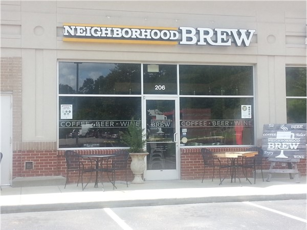 Neighborhood Brew. Best coffee shop in North Shelby County