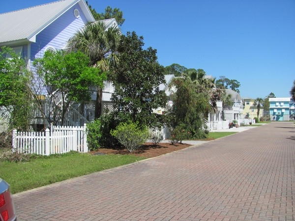 The quaint community of Bay Gardens