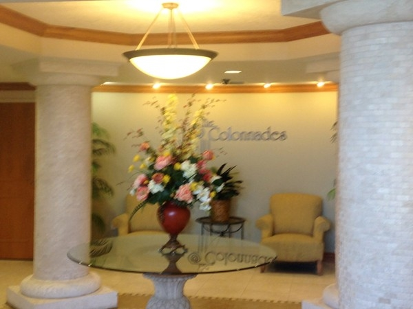 Lobby at the Colonnades