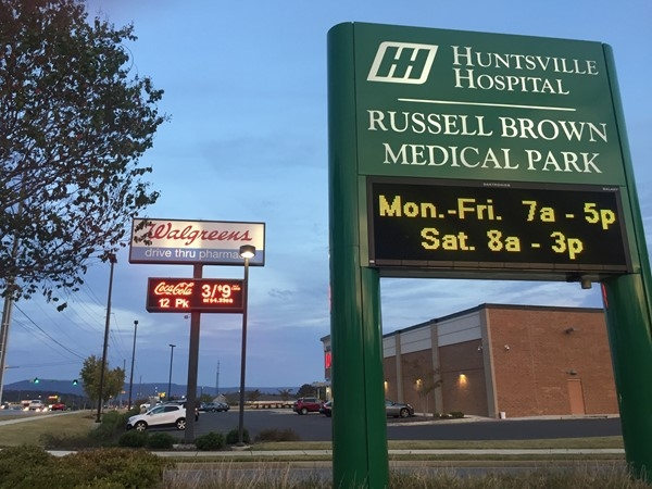 Huntsville Hospital Clinic and Lab serves the Cove Community