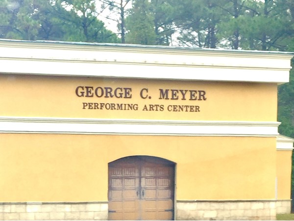 Loads of local talent can be found at the George C. Meyer Performing Arts Center