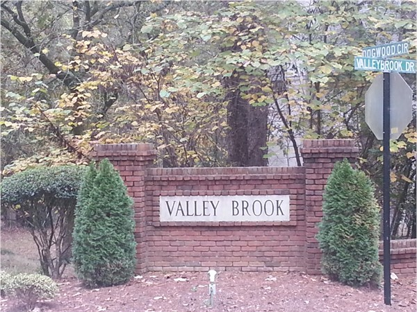 Valley Brook is located off of Valleydale Road and convenient to I-65