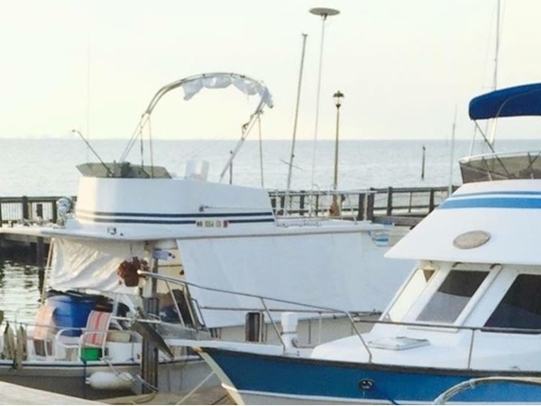 A chilly day for a walk on the Fairhope Municipal Pier