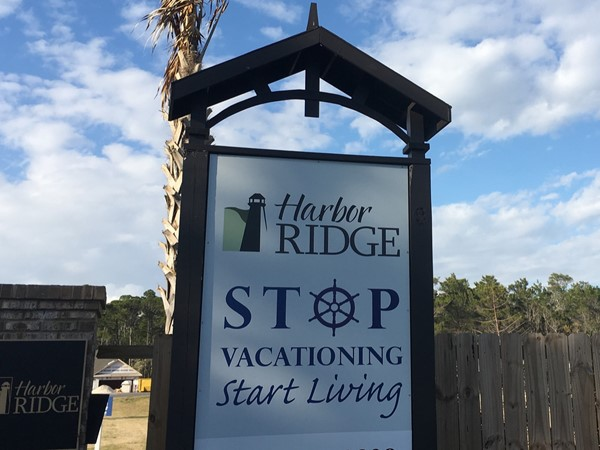 New construction homes hidden In Terry Cove of Orange Beach Alabama