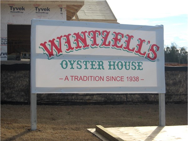 Wintzell's Oyster House --- coming to Fultondale