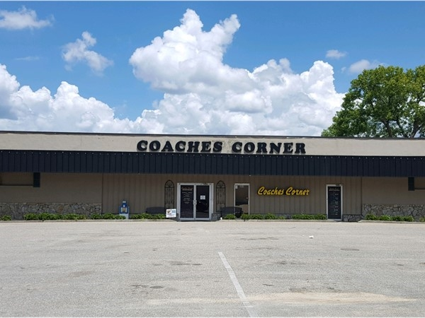 Coaches Corner is the local's favorite sports bar with great food and live music