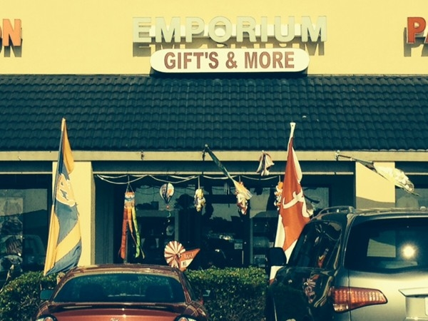 Looking for that unique gift?  I find it at the Emporium, Gulf View Shopping Center