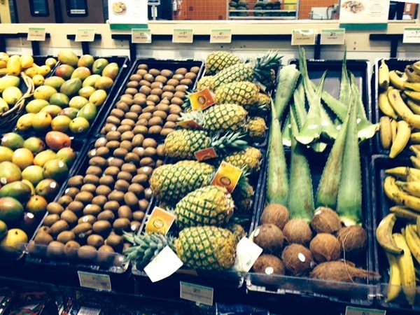Publix, my choice for fresh fruit and veggies