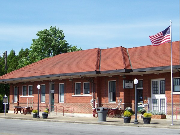 Old Train Depot in Hartselle