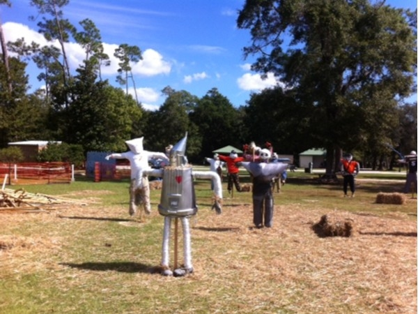 Annual Scarecrow Building Competition in Orange Beach