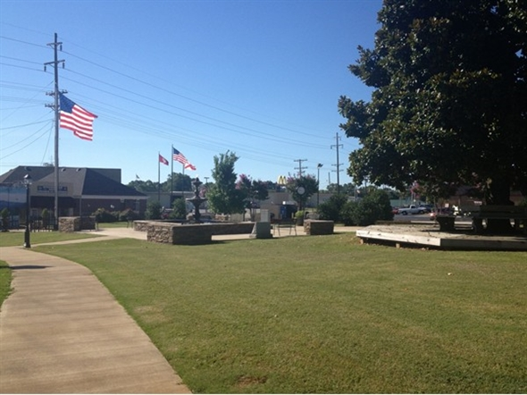 Heritage Park. Peace and quiet in small town USA is right here
