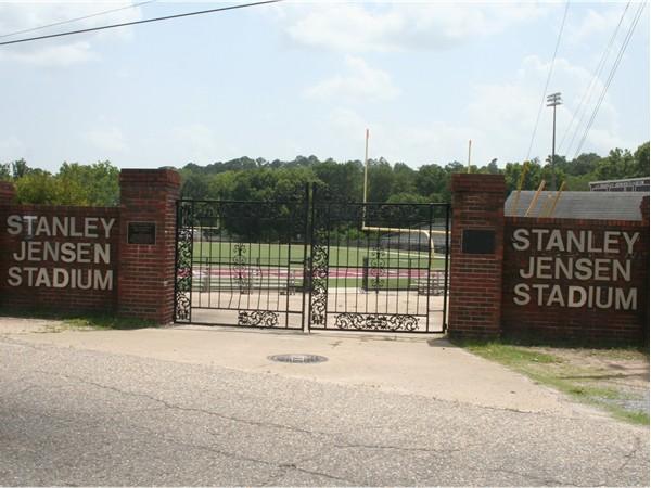 Stanley Jenson Stadium. Home of the Prattville Lions football team