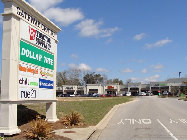 Saraland's newest place to bank, shop and dine on Hwy 158