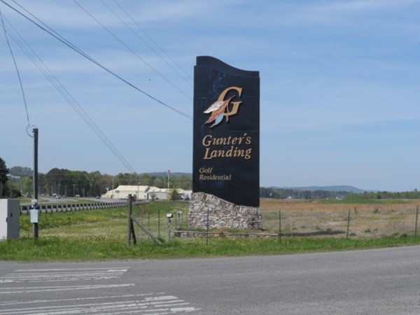 Gunter's Landing: A golf and residential community offering wonderful scenic views