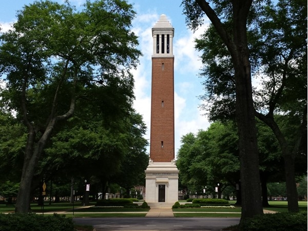 The sounds of Denny Chimes will leave you with lasting memories of The Capstone.