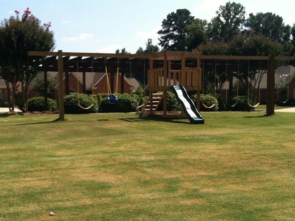 The children's playground in Highgrove Subdivision