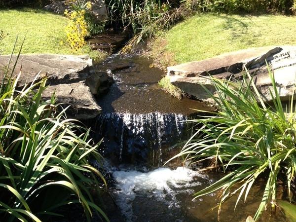 Waterfall at Aldridge Gardens