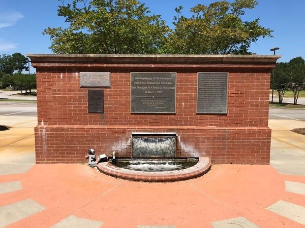 Memorial for March 1, 2007 tornado victims
