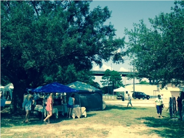 Art Market in Waterway Village. Local art, music, food and fun