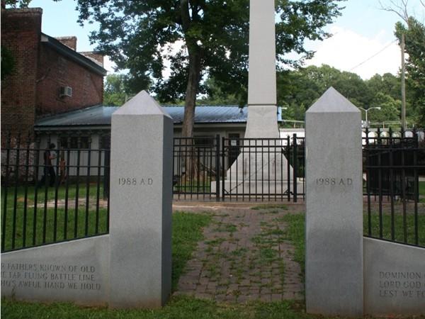 Historic landmark in Wetumpka, AL