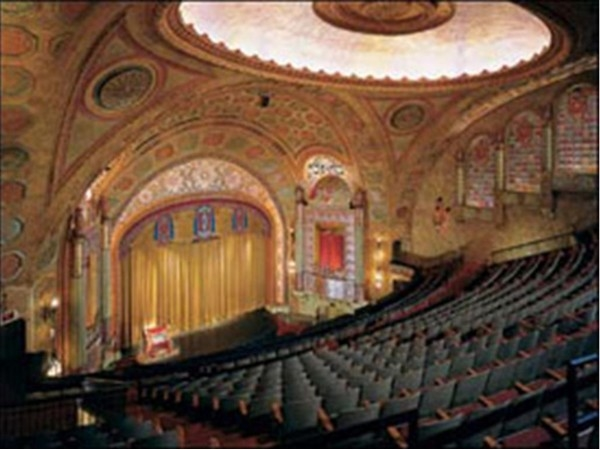The Alabama Theater, a movie palace built in 1927