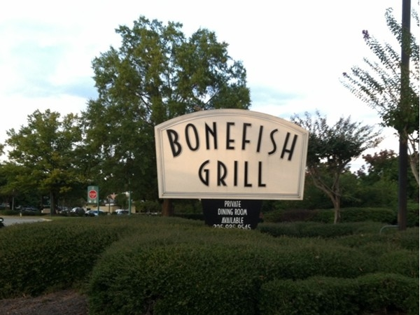 This is fine dining at its best Go celebrate a special day at Bonefish!