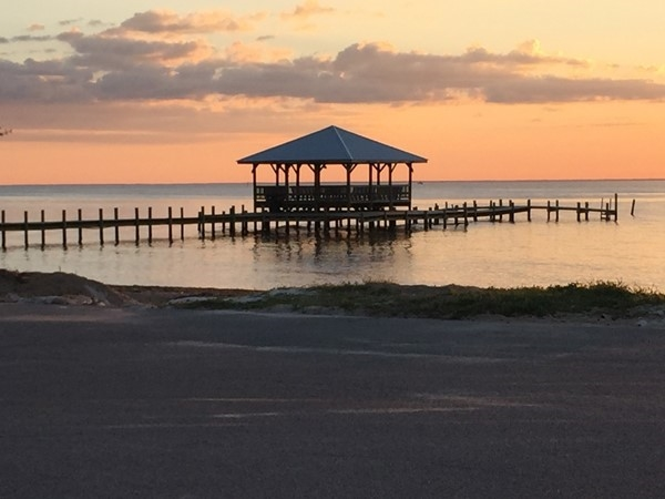 Another beautiful evening at the Fairhope Yacht Club