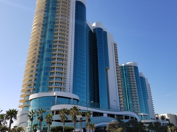 Turquoise Place Towers stands tall and beautiful in Orange Beach