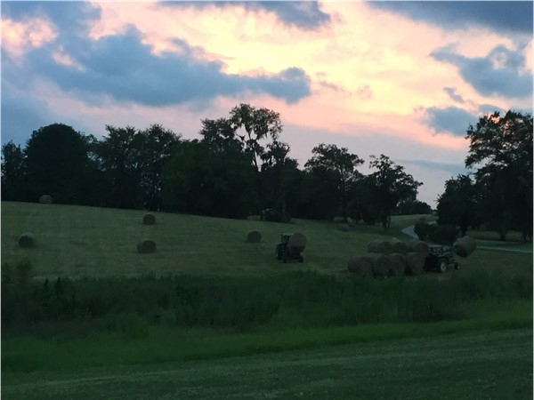 Farming at sunset - That's Pike Road living