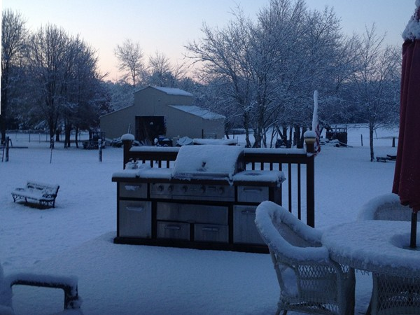 Winter in North Alabama - Let's hope it is not coming like this again this year.
