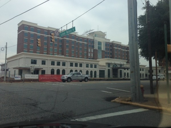 New Embassy Suites Hotel downtown Tuscaloosa