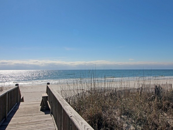 Serenity. White sand, crystal clear water and blue skies for miles! (West Beach in January)