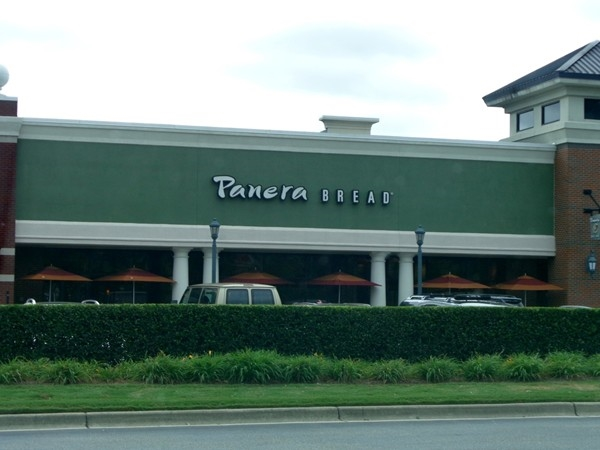 Stopped by EastChase to enjoy Panera Bread with some friends. Food is great.