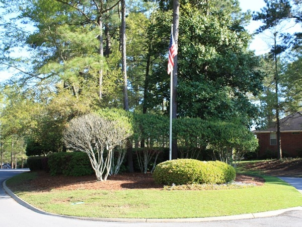 Entrance to Wakefield Subdivision in Spanish Fort Alabama.