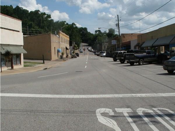 Wetumpka's downtown is full of great views like this one