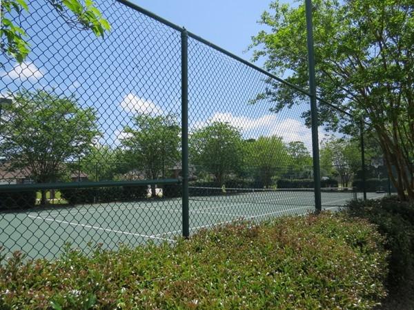 Tennis anyone?  Foley's Meadow Run Estates