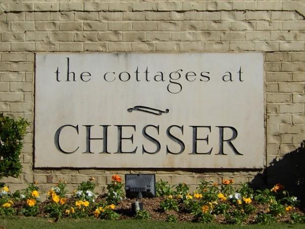 Cottages at Chesser entrance