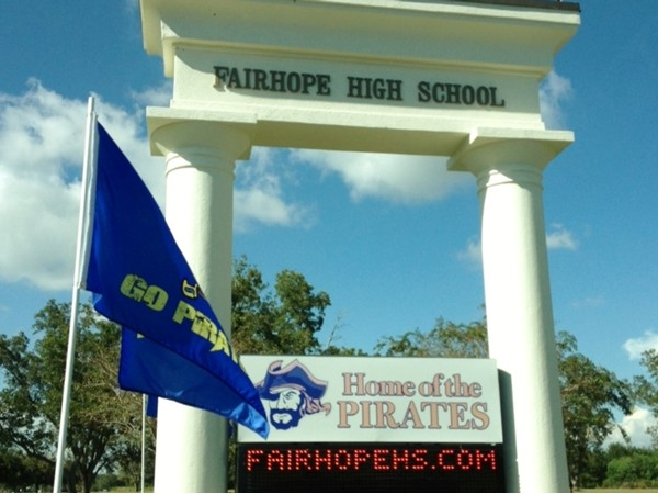 Home of the Pirates! Fairhope offers a top notch education