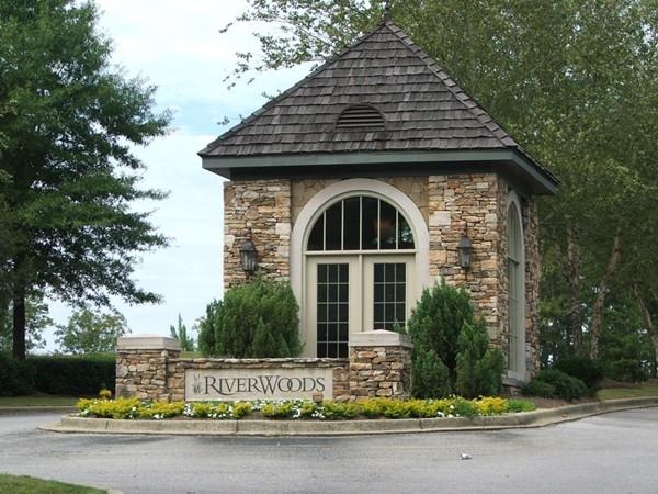 Riverwoods Entrance