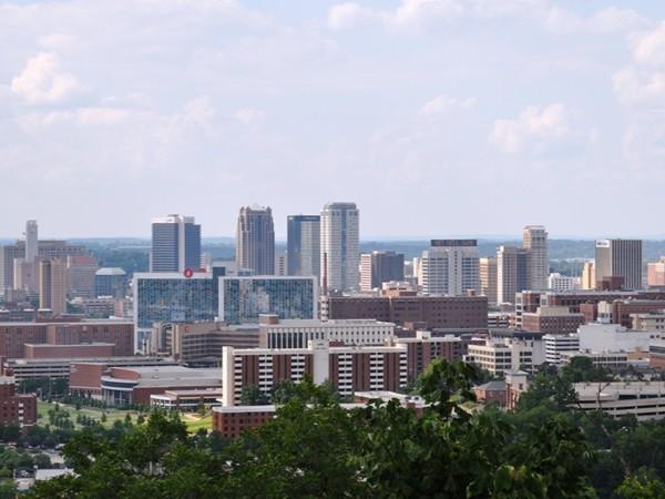 City of Birmingham, Alabama skyline