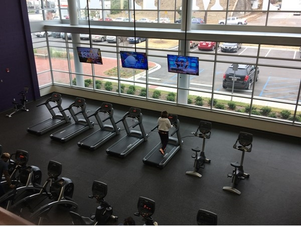 Cardio area at Bessemer Recreation Center